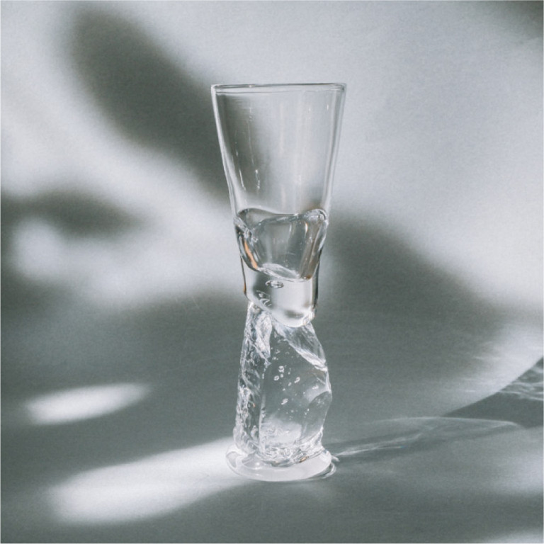 NAGANO FUMIKO glass works grass works